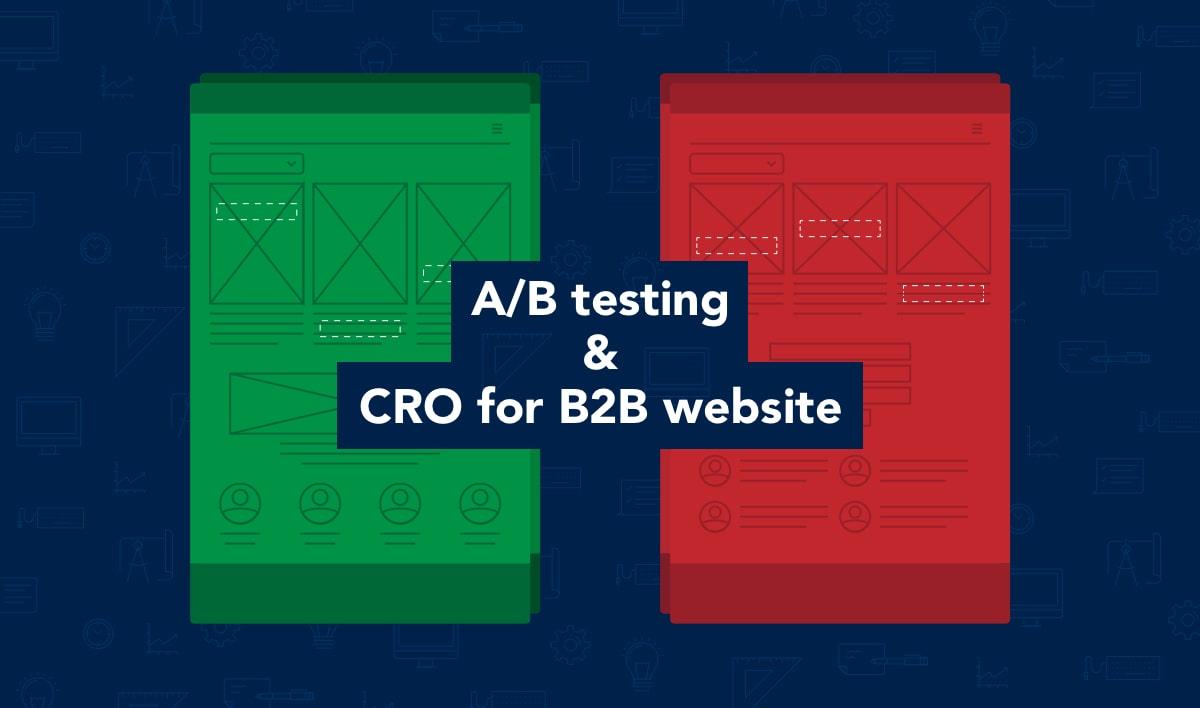 ab testing cro for b2b