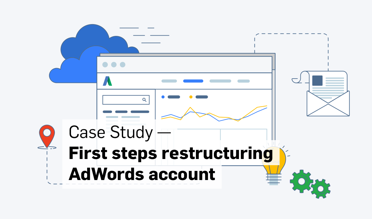 restructuring adwords account