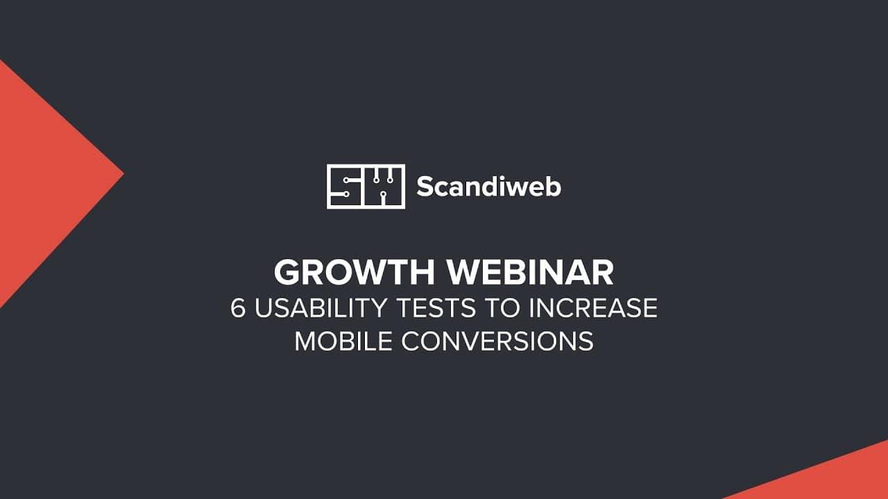 usability tests webinar