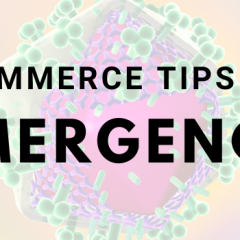 eCommerce tips for emergency