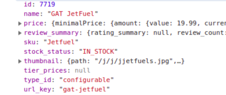 optimized code