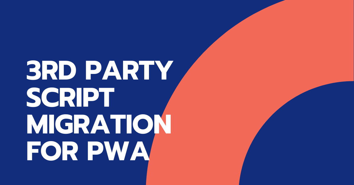 3rd party script migration for pwa: banner