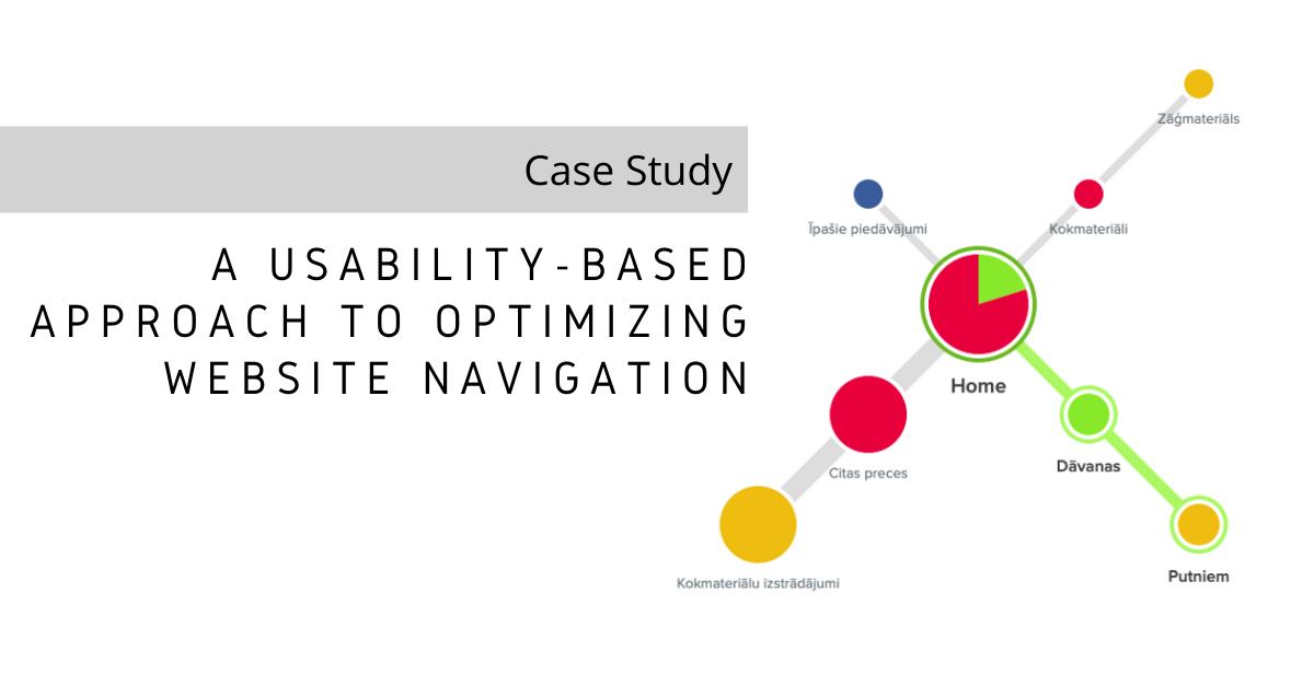 Usability-Based Navigation Optimization