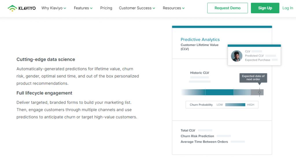 eCommerce Personalization Tools by Klaviyo