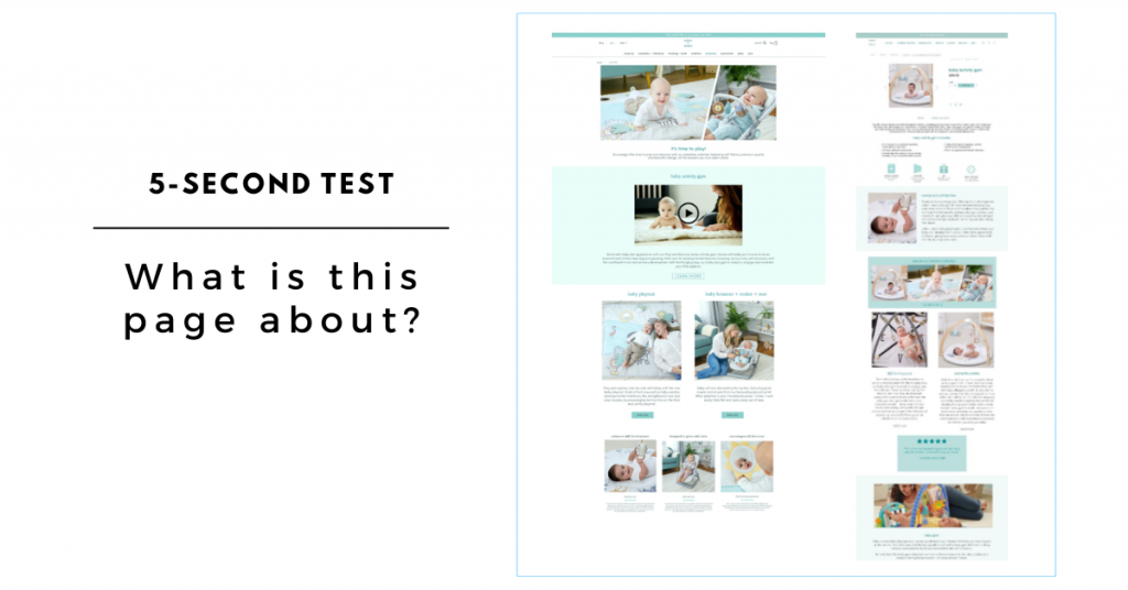 Landing Page User Testing: Five-Second Test